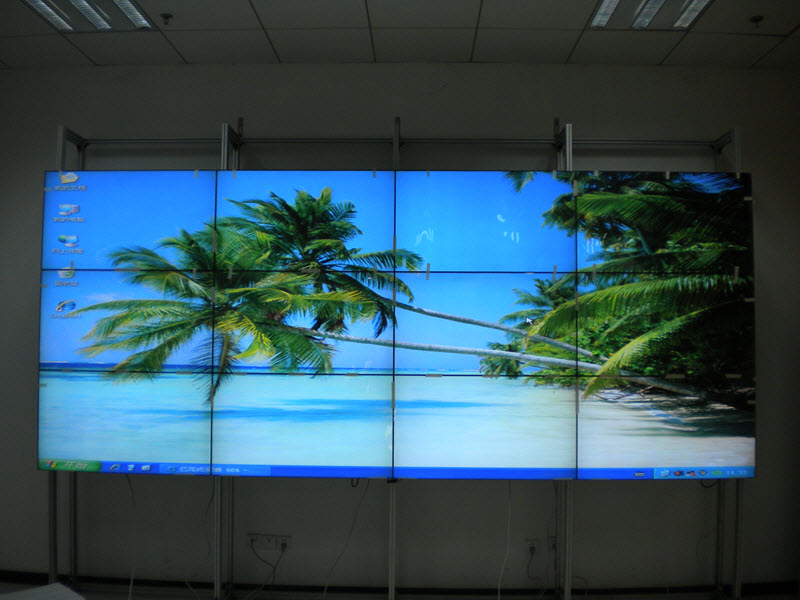 4x4 46inch LCD Video Wall - Fiddle-Faddle Electronic