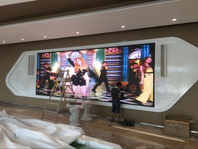 55inch LED Backlight Display Wall use in Meeting Room