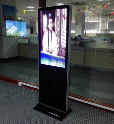 LCD Ads player Placed in a Company